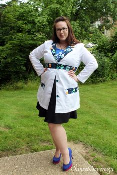 Frizzle Lab Coat by SunsetSovereign