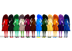 MMD Homestuck Witch Godtier by GirlAnimePrincess