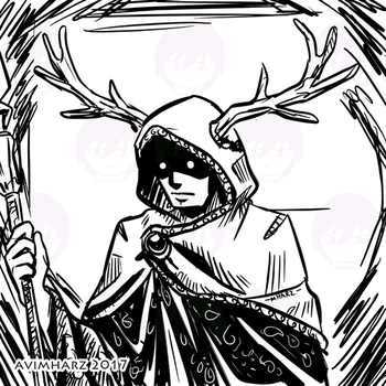 Quick Sketch: Enchanter by avimHarZ