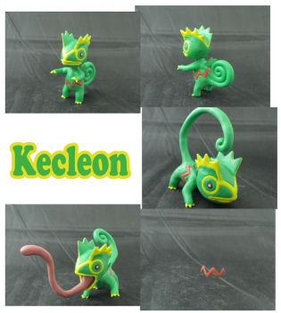 Weekly Sculpture: Kecleon by ClayPita