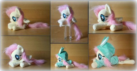 My Little Pony -Fluttershy - Handmade Beanie Plush by Lavim