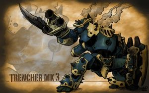 Ironklad: Trencher MK III by suldae