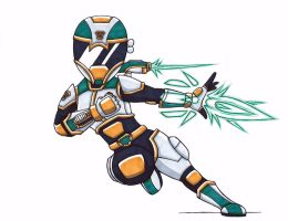 Arsenal Ranger- Type Silver by toonartist