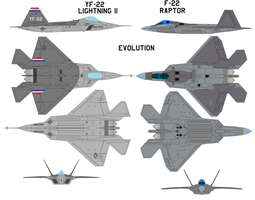 F-22 Evolution by bagera3005