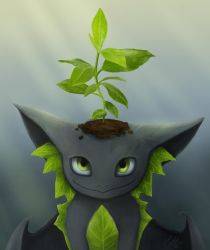 Plant dragon by fakeplasticcats