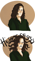 Medusa style by pinkwater1211