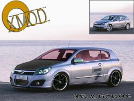 .:Opel Astra Coupe:. by xmod