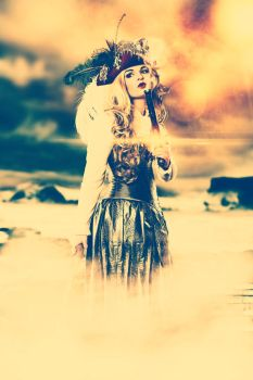 Pirate Girl Vintage by danielhaupt