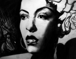 Billie Holiday by raschiabarile