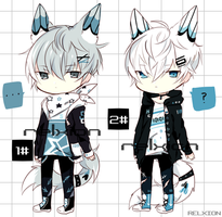 [SETPRICE*CLOSED]Lineheart*2 by Relxion-kun