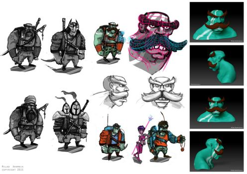 characters by MiladAram