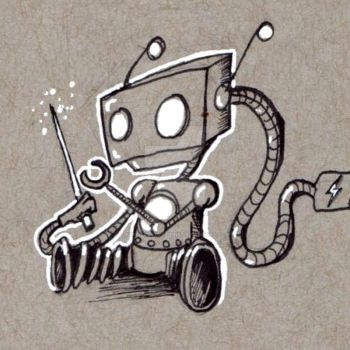 Robots: Magical Wand by KekeIllustrations