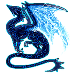 Animated pixel dragon by Niicchan