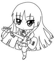 Chibi Mio by Pepperoach