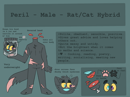 Peril OC Reference Sheet by frankkiestein