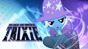 Trixie and her awesome Magic - Wallpaper by Tadashi--kun