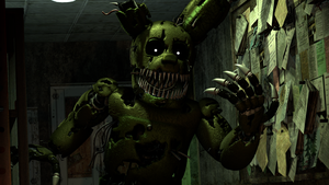 Nightmare Springtrap v2 by TF541Productions
