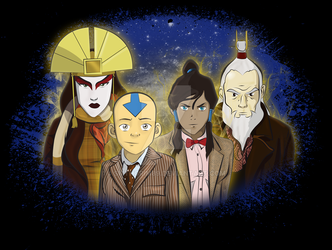 Avatar: The Last Time Lord by smthcrim89