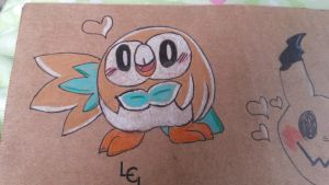 Rowlet  by vivilong