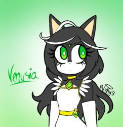 Venusia: Greennn by Victoriathehedghog