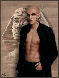 The Egyptian by KimiSchaller