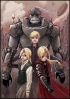Fanart Full Metal Alchemist by funshark