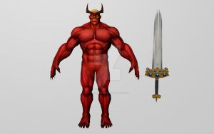 Surtur (MFF 3D Model) by Pitermaksimoff
