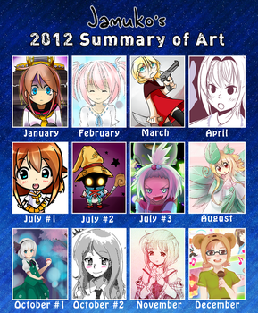 2012 Summary of Art by jamuko
