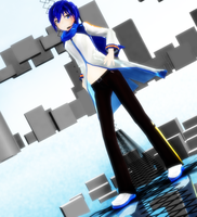 [MMD NC] DL Appearance KAITO by monobuni