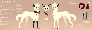 Chirin's Official Ref by RecoonWorld