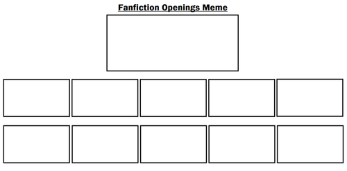 Fanfiction Openings meme by MarioFanProductions