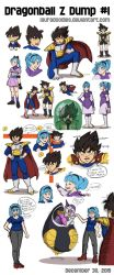 Dragonball Z Dump 1 by LauraDoodles