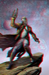 Legendary Star-Lord Conversion 3D by Fan2Relief3D