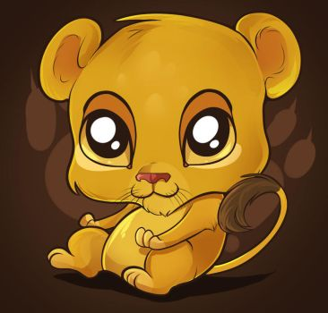 Cute Lion Tutorial by Dragoart