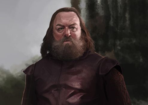 Robert Baratheon Study by Andy-Butnariu