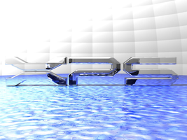 xps crystal over water by jaruworks