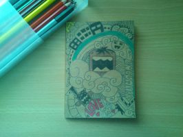 Notebook Cover Design by Patricia-T