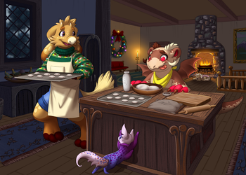 Warm Hearth -- Secret Santa 2017 by Ascynd