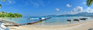 Patong Beach Panorama by travelie