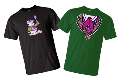 Two cool Tshirt designs by raisegrate