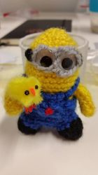 Minion Crochet by Squidzorz