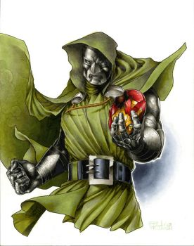 Doctor Doom NC Comicon by RichardCox