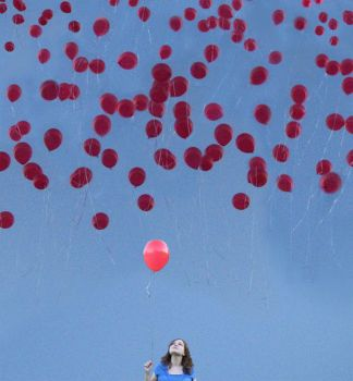 99 Red Balloons by nini-chan