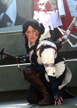 Wondercon 2014   Fem!Connor Kenway by axelthemoogle