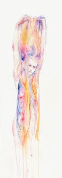 I'll stay here for a while by agnes-cecile