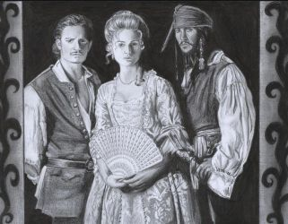 Pirates of the caribbean 2 by D17rulez