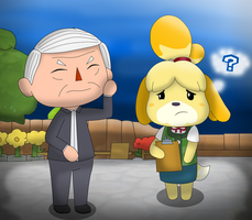 Amlo crossin by Charly-sparks