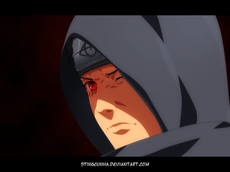 Shisui... The hooded man by StingCunha