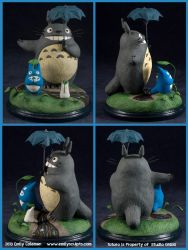 My Neighbor Totoro by emilySculpts