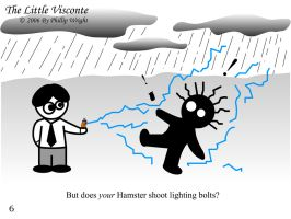 The Little Visconte: Hamster by masterxodin